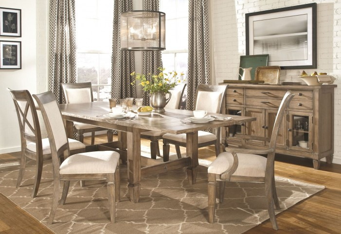 Brownstone Village Trestle Dining Room Set