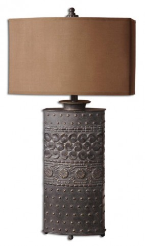 Shakia Olive Bronze Table Lamp