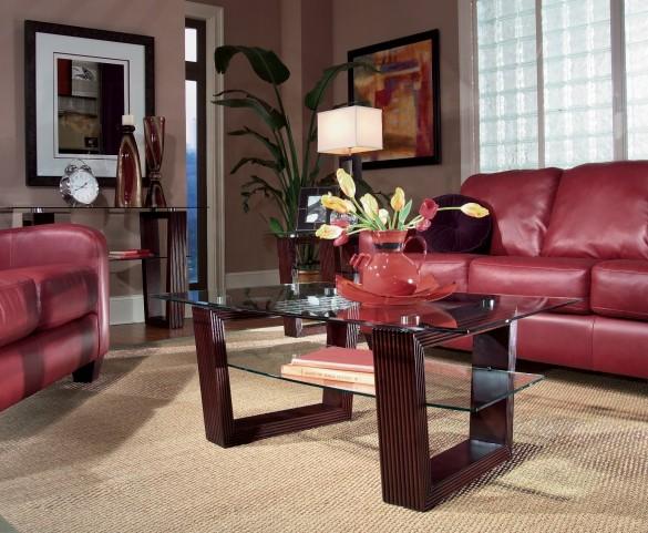 Cordoba Occasional Brown Table Set