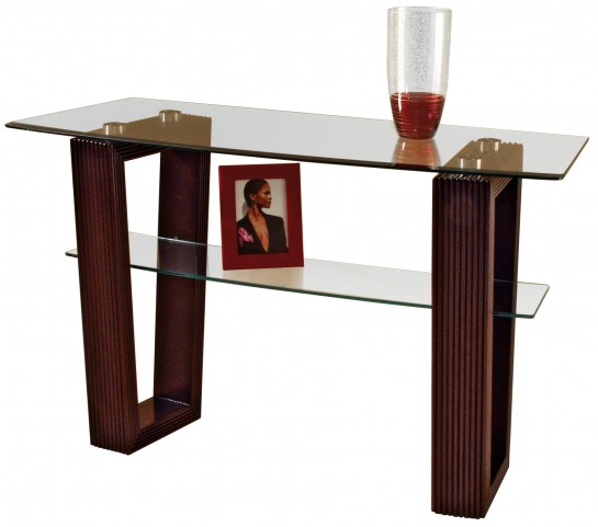 Cordoba Sofa Table Clean contemporary lines