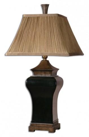 Delmar Black Table Lamp