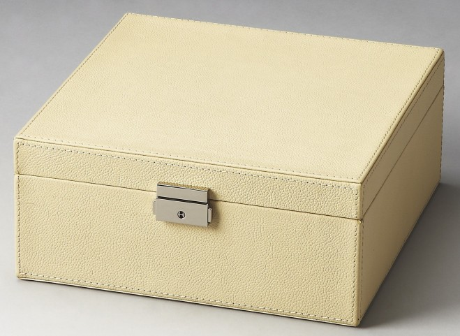 2778287 Lido Hors D'Oeuvres Cream Leather Storage Case