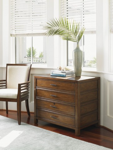 Longboat Key Warm Sundrenched File Chest