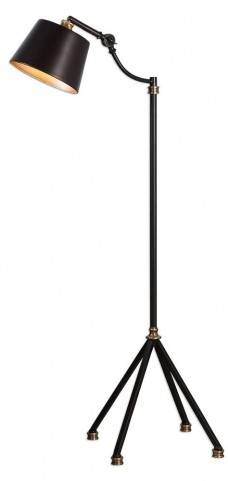 Marias Black Metal Floor Lamp
