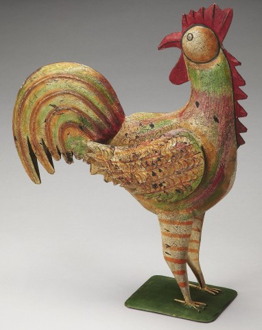 Majestic Hors D'Oeuvres Rooster Figurine