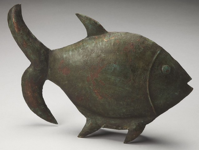 Reef Dwelling Hors D'Oeuvres Fish Figurine