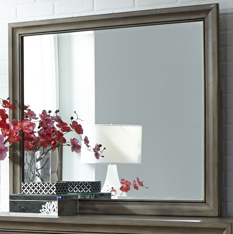 Hartly Gray Wash Mirror