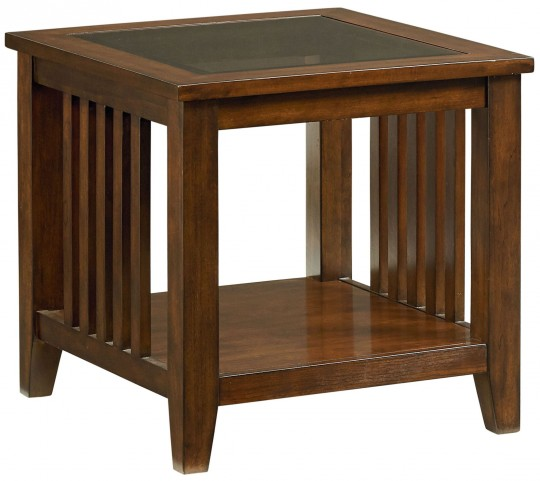 Rio Dark Brown Cherry End Table