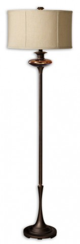 Lahela Copper Bronze Floor Lamp