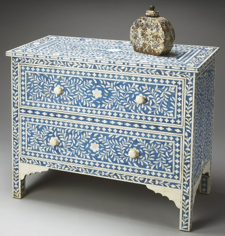 Bone Inlay Heritage Chest