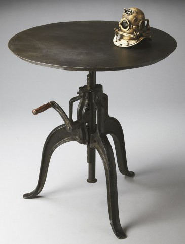 Industrial Chic Metalworks Hall Table