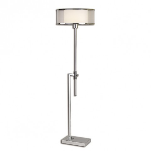 Duarte Nickel-Plated Floor Lamp