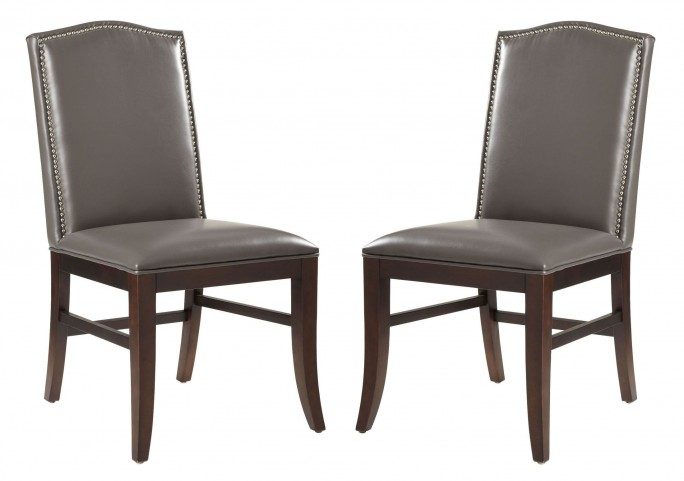 Maison Leather Dining Chair Set of 2
