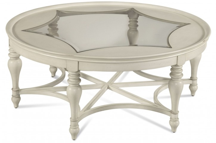 Sanibel White Round Cocktail Table