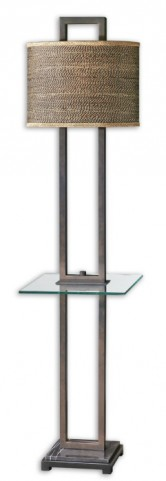 Stabina End Table Floor Lamp