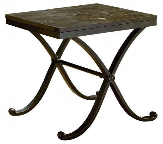 Santiago Stone Top End Table