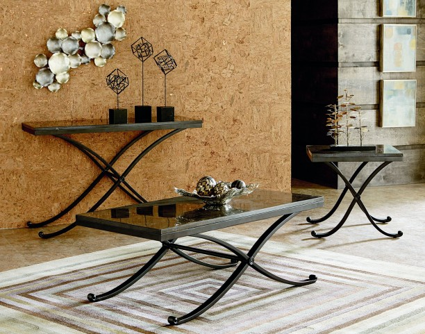 Santiago Stone Top Occasional Table Set