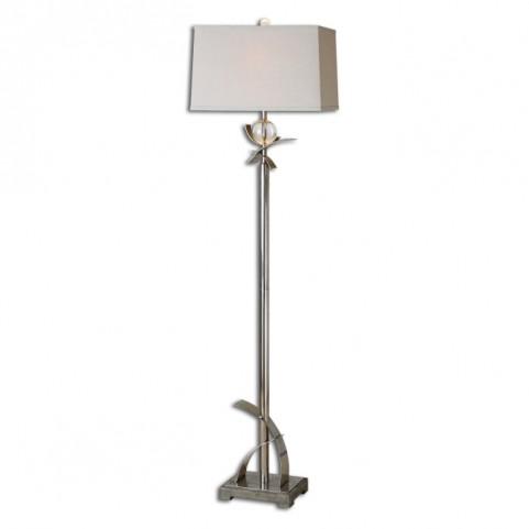 Cortlandt Curved Metal Floor Lamp