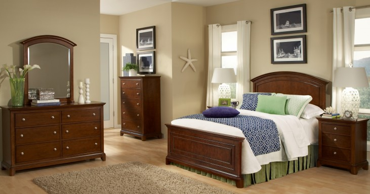 Impressions Panel Bedroom Set
