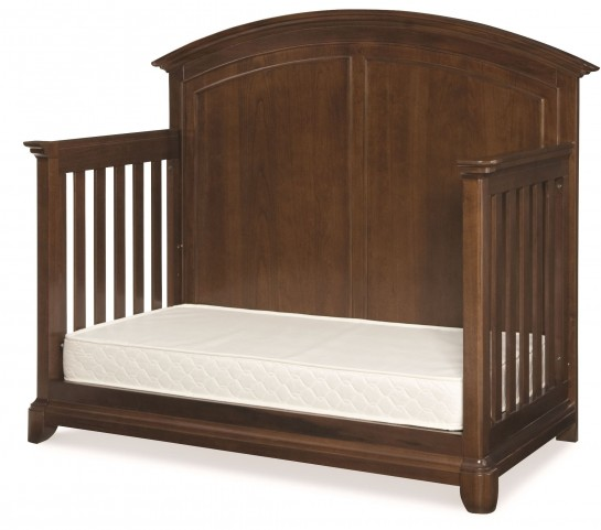 Impressions Classic Clear Cherry Grow With Me Convertible Crib