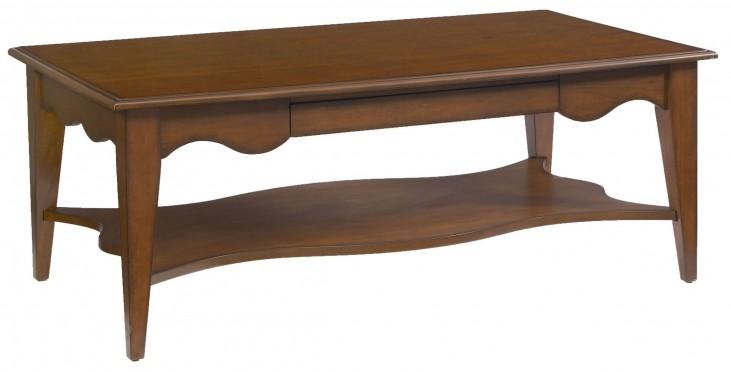 2893-33 Trea-Kincaid Treasures Rectangular Cocktail Table