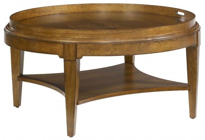 Trea-Kincaid Treasures Round Cocktail Table