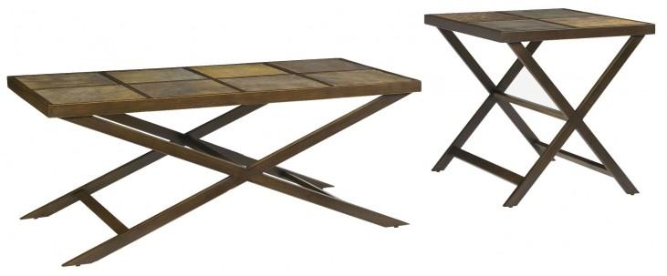 Trea-Kincaid Treasures Occasional Table Set