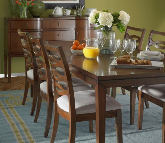 Claire de Lune Leg Dining Room Set