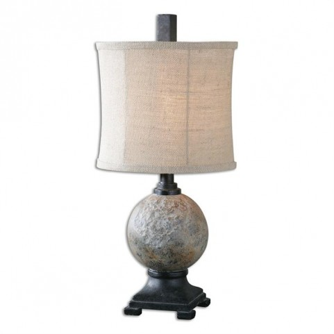 Calvene Concrete Ball Table Lamp