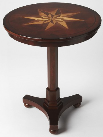 Seymour Plantation Cherry Accent Table