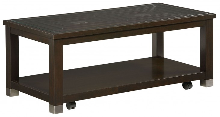 Colton Brown Cocktail Table