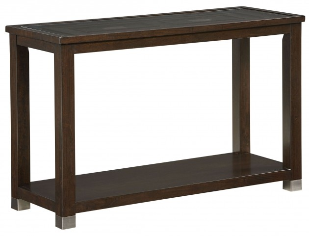 Colton Brown Sofa Table