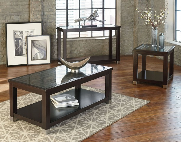 Colton Brown Occasional Table Set
