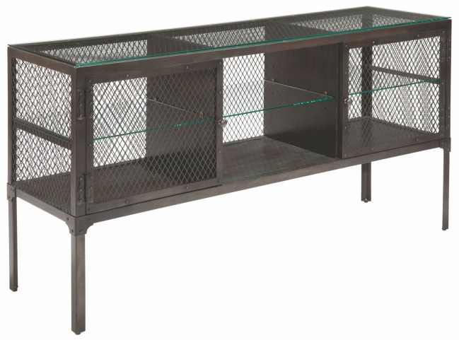 Trea-Kincaid Treasures Metal Sofa Table