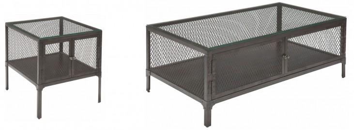 Trea-Kincaid Treasures Metal Occasional Table Set