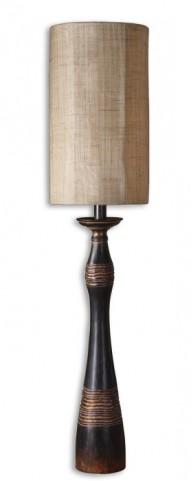 Dafina Aged Black Buffet Lamp