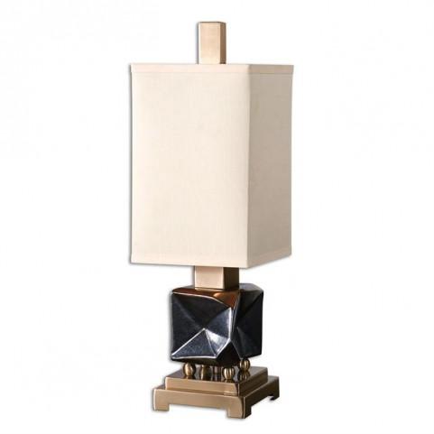 Calva Oxidized Bronze Buffet Lamp