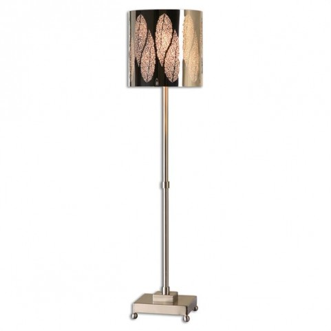Fronda Brushed Nickel Buffet Lamp