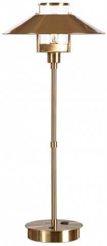 Albaretto Brushed Brass Lamp