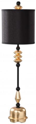 Volga Antiqued Gold Buffet Lamp
