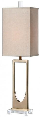 Genivolta Brushed Brass Lamp