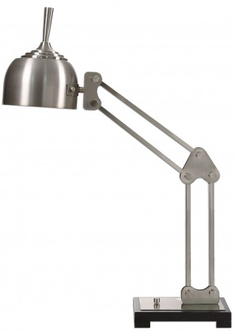 Amado Brushed Nickel Desk Lamp