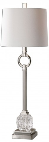 Bordolano Polished Nickel Buffet Lamp