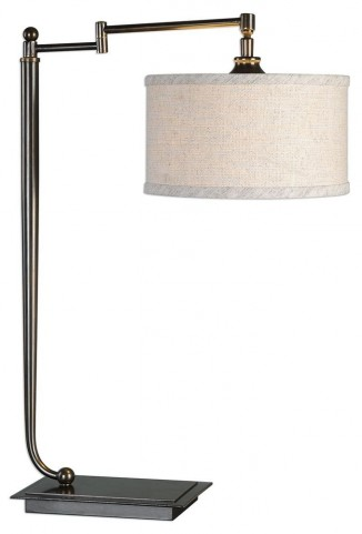 Lamine Dark Bronze Desk Lamp