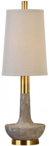 Volongo Stone Ivory Buffet Lamp