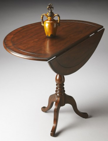 Theodore Masterpiece Castlewood Drop-Leaf Hall Table
