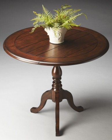Masterpiece Nutmeg Drop-Leaf Accent Table