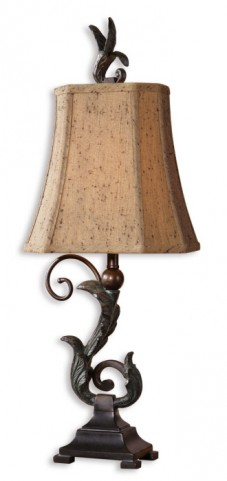 Caperana Black Buffet Lamps Set of 2