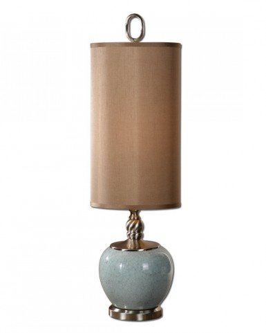 Lilia Light Blue Buffet Lamp