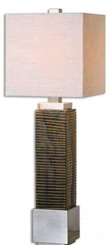 Jernigan Bronze Glass Table Lamp